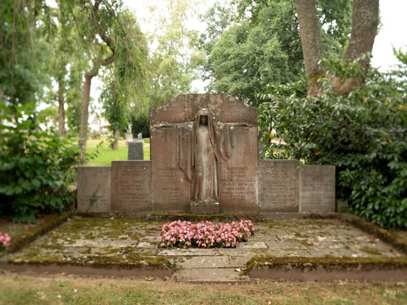 Alter Friedhof in Bad Arolsen